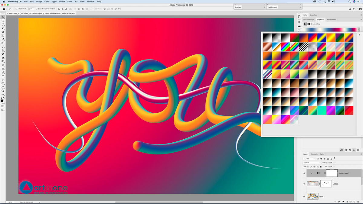 Intersecting the Lettering