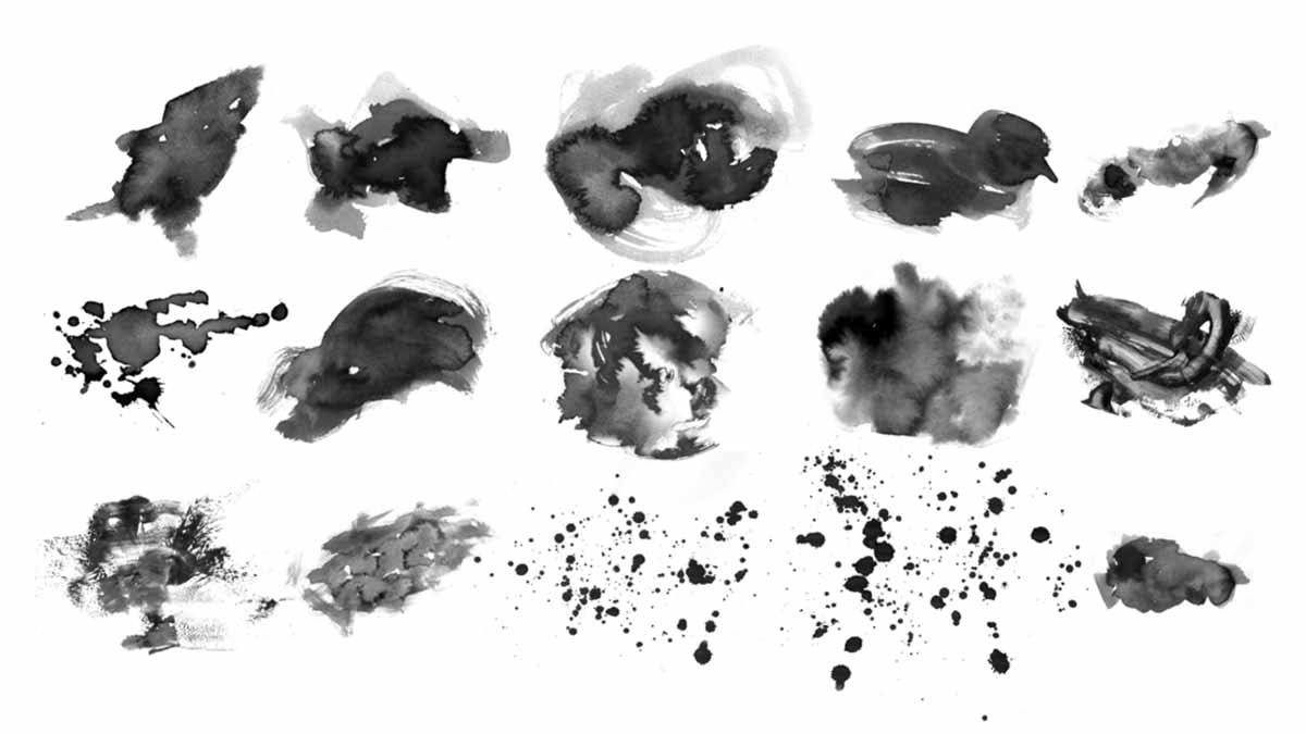 15 Free Photoshop Watercolor Brushes