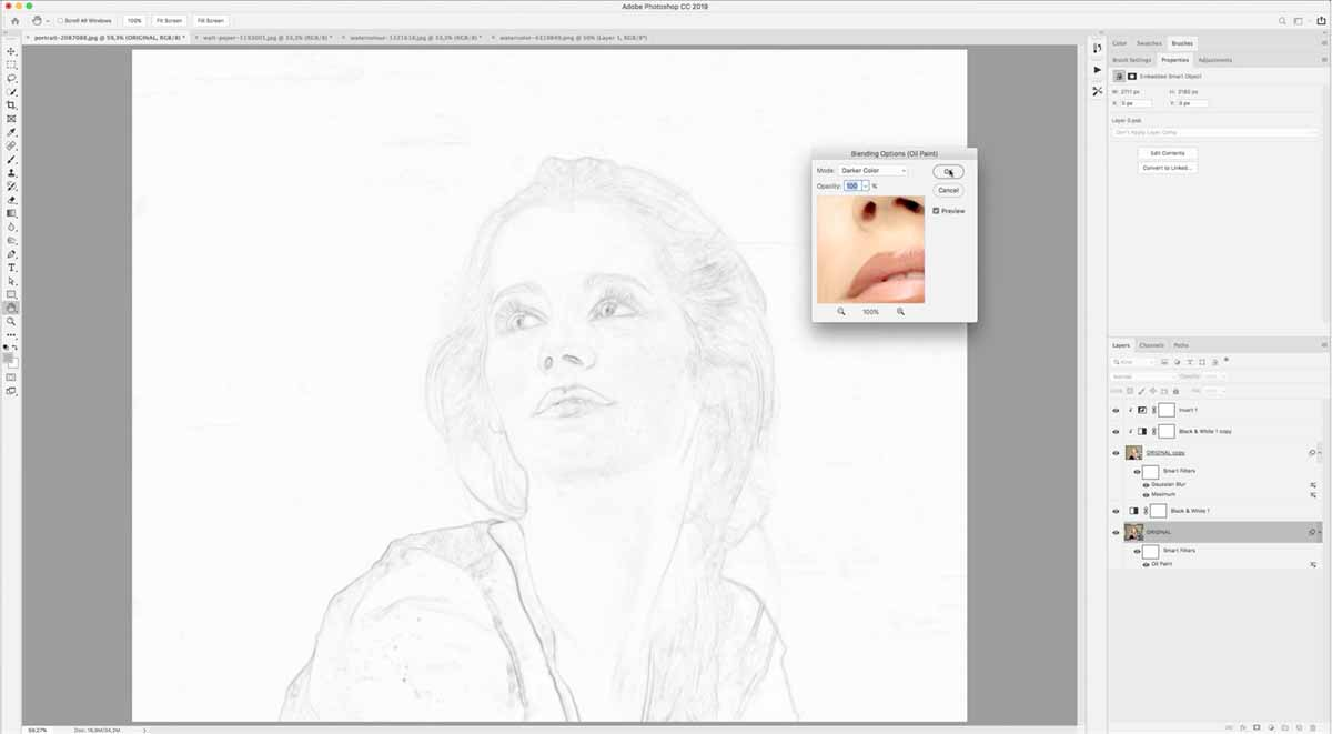 converting image to drawing